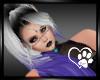 Silver Purple Saretta