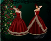 Red Christmas Gown V2