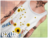 Ripped Tank | Sunflower