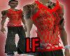 [LF] Red Sting Vest