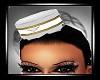 Stewardess Hat white
