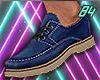 1984 Classy Shoe Blue