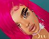 shania pink hair