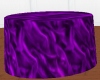 Purple cake table