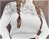 Turtleneck Knit - White