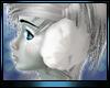 M * White Ear Muffs