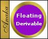 Floating Round Frame