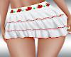 StrawBerry Ruffle Skirt