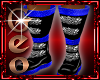 Geo Draco Boots blue