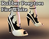 Peeptoes Fire White