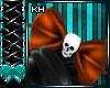 Hallows Eve Skull Bow