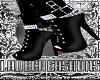 W4NT3D Black Boots