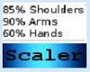 Hand Shoulder Arm Resize
