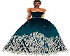 D. Teal Gown