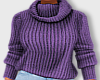 Winter Sweater-Mauve