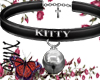 kitty collar bell black