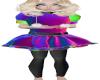 Child Fur Dress V 1118