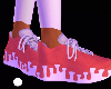 Red Drip Shoe