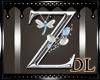 silver letters Z