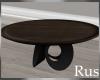 Rus Black/Wood Coffee Tb