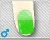 ♡green nails♡