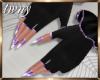 Batty Gloves/Nails