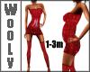 Dress w stockings 1-3m