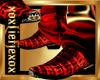 [L] RED Croc Cowboy M