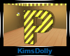 *KD* Bee Room Letter P