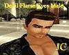 Devil Flame Eyes Male