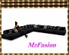 *Blk Butterfly Couch