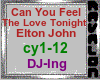Trigger Song Can You Feel The Love Tonight - Elton John