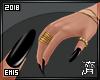 !E! Nails+Bracelet+Rings