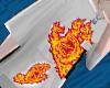 Kr. Hand Flame t shirt