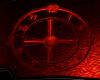 Animated Red Clock