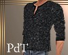 PdT Coal Fleece Henley M