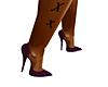 dark plum heels