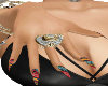 AFRICAN PRINT CLAWS