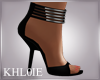 K jaz black heels