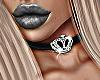 Crown Choker Black