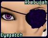 A* Violet Rose Eyepatch
