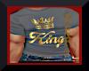 KINGS CROWN GREY TEE
