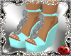 CH tEAL shoes