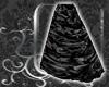 DD Black Rose Skirt