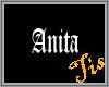 (Tis) Floor Tag - Anita