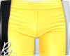 Yellow Plastic Pants