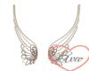 Silver/Brown Wings