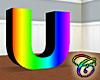 Rainbow U Animated