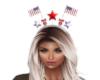 American flag crown