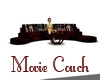 Movie couch with poses
